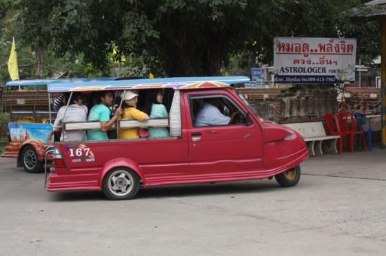 Tuk Tuk - Ayutthaya - Thailande