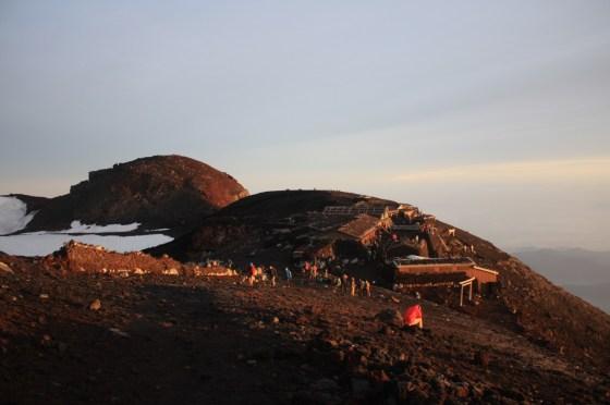Sommet Fuji - Japon
