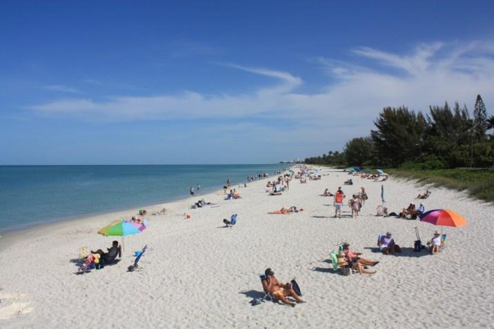 Plage Naples Floride