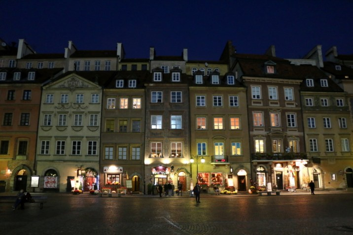 Place du Vieux Marché - Varsovie