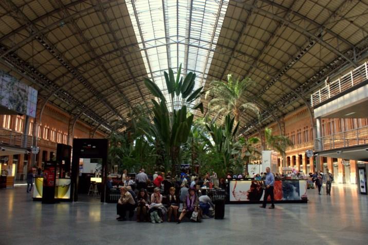 Gare Atocha - Madrid