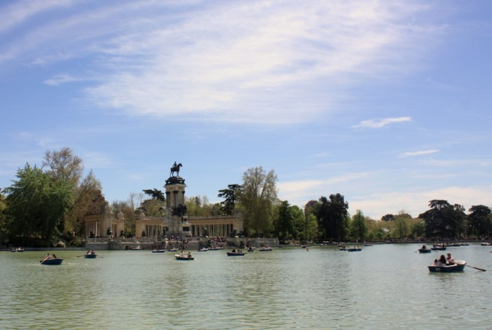Lac - Parc Retiro - Madrid