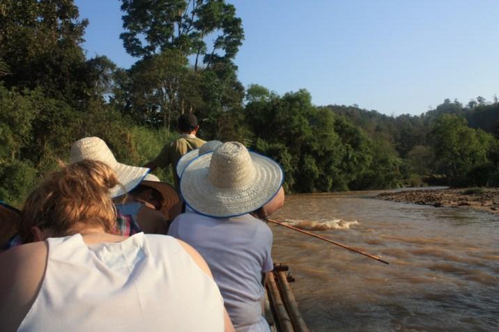Bamboo rafting - trek - chiang mai
