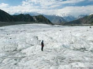 Minapin Glacier at Rakaposhi Base Camp, Hunza Vallay, PAKISTAN