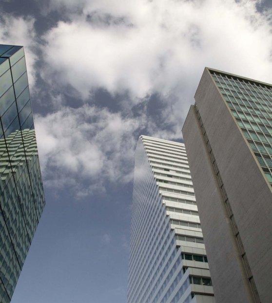 Der Roche Tower - neu das höchste Gebäude der Schweiz