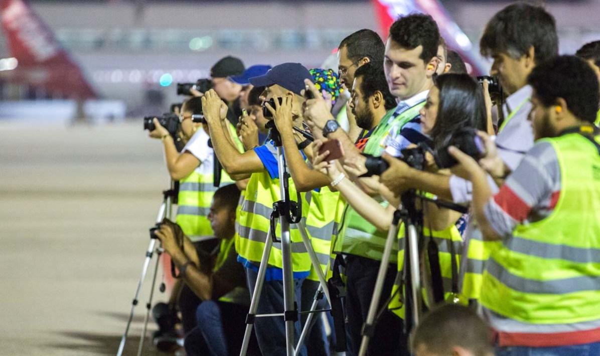 Der Erstflug wurde in Brasilien mitverfolgt