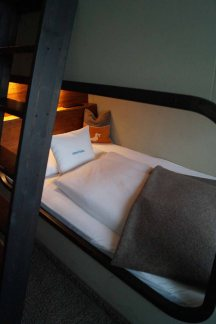 25hours Hotel Hamburg Koje