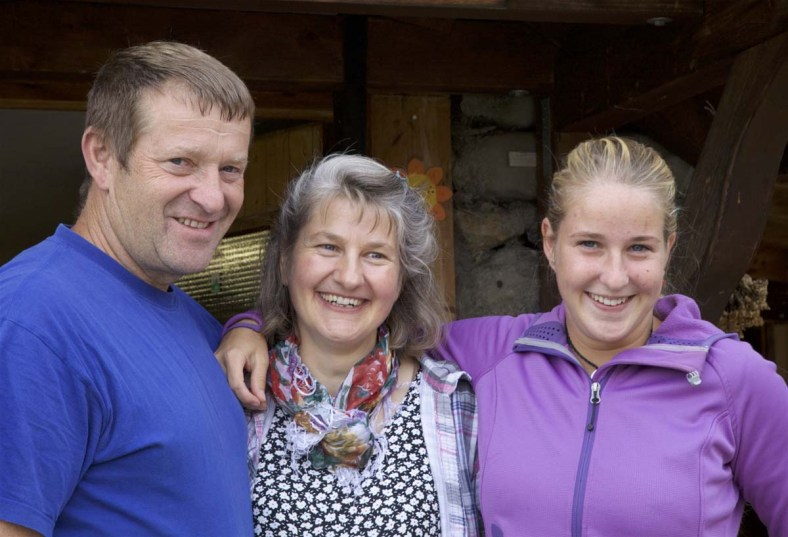 Die Schmitters - Bauern auf Brändlen und Besitzer der Chrüzhütte