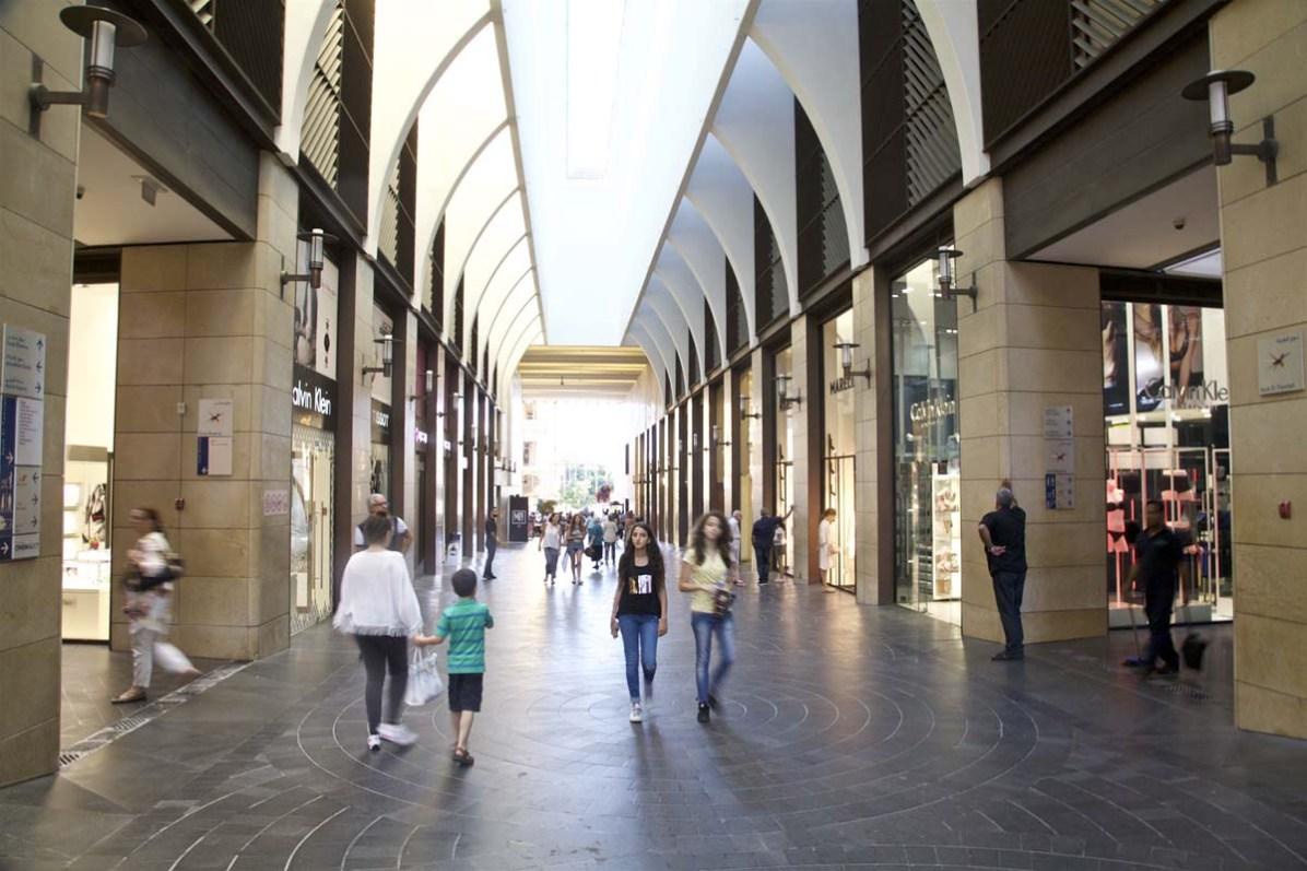Beirut Souks - hier gibts Zara, Mango & Co.