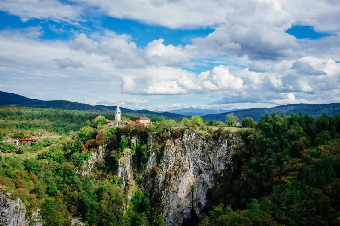 Sloveniens grüne Hügels