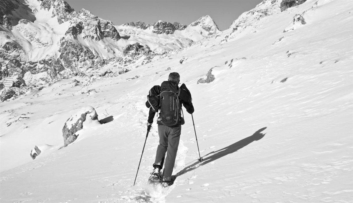 Outdoor Butler Schneeschuhwanderung Engadin 07