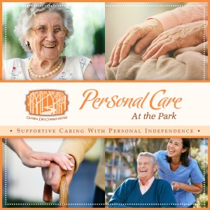 To learn more about Personal Care at the Park, download the PDF version of our brochure here.