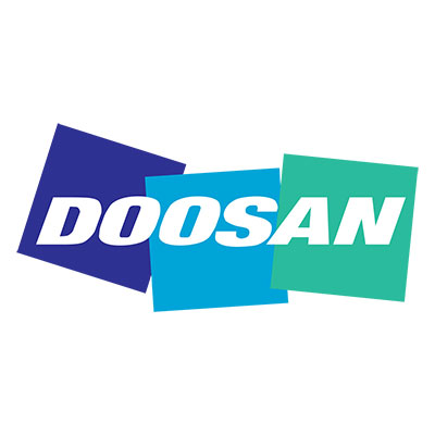 Picture showing the Doosan logo