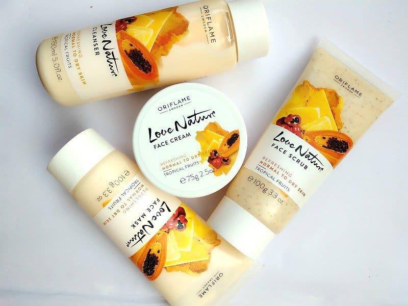 Oriflame Fruit Facial Kit Review