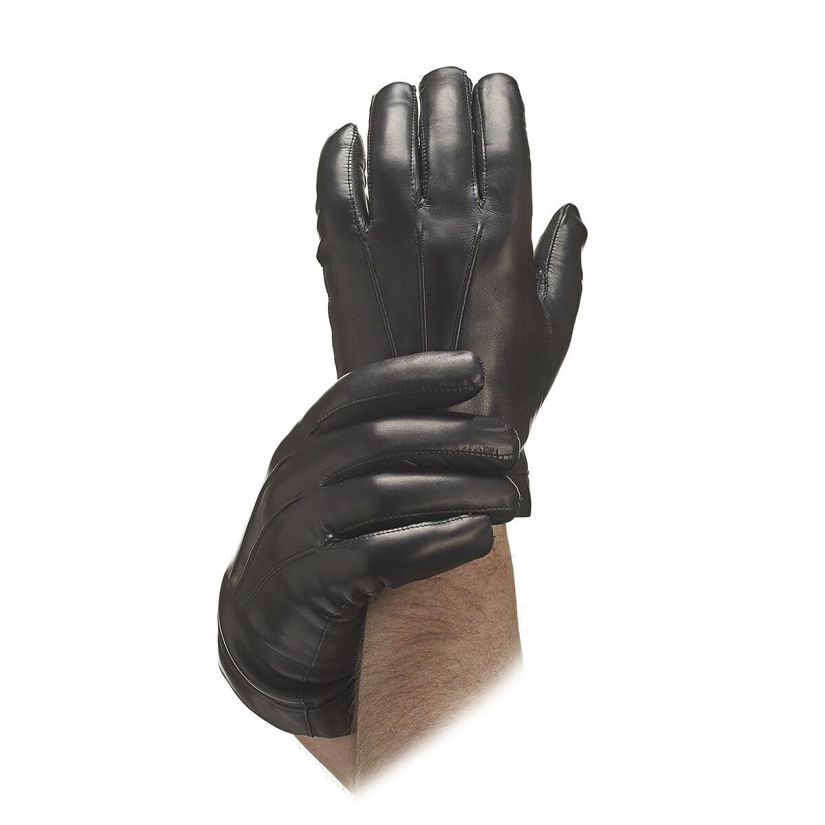 Men s black unlined leather gloves leather gloves gloves online