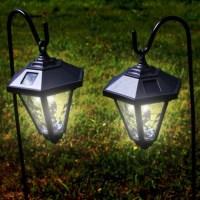 Solar Powered Garden Coach Lights
