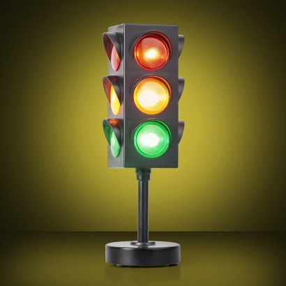 Flashing Traffic Light Lamp