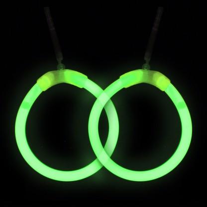 Glowstick Hoop Earrings