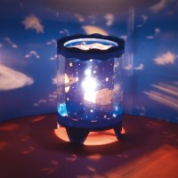 Children's Rotating Table Lamp Projector