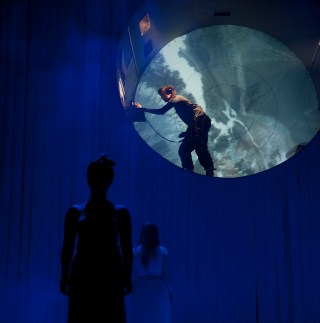 Dress Rehearsal of Opera of the Unknown Woman, Warwick Arts Centre