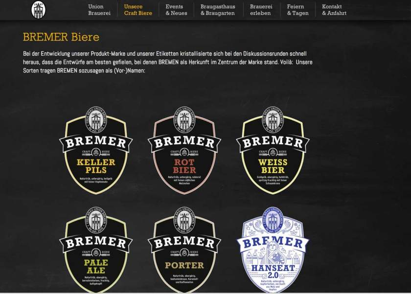 Uniion_Brauerei_Biersorten_screenshot