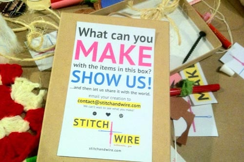 Stitch+Wire: What Can You Make?