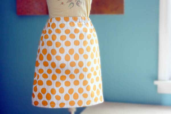 How to Make a Skirt in 30 Minutes
