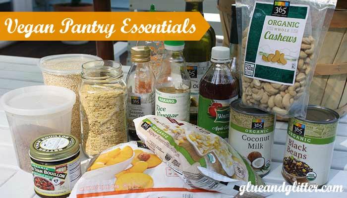 vegan pantry essentials