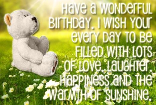 Englische Geburtstagswünsche für Karten, WhatsApp und Facebook