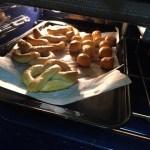 Soft Gluten free pretzels browning
