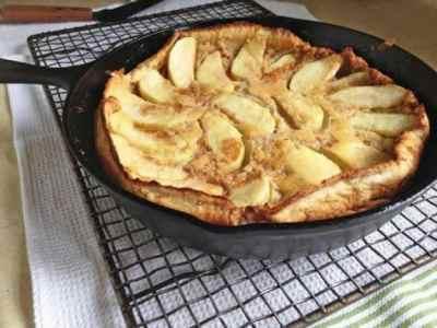 Gluten-Free Dutch Apple Pancake - Gluten-Free Baking