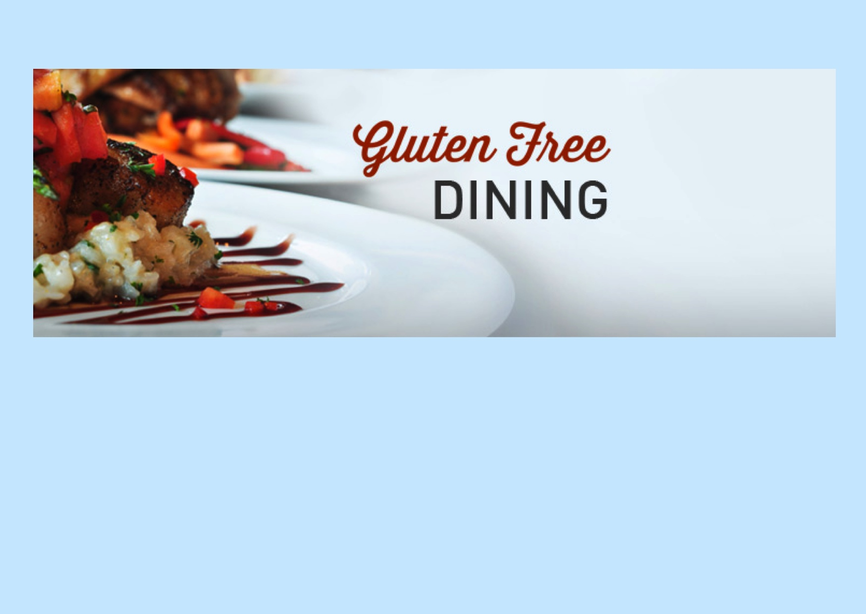 what EVERY RESTAURANT SHOULD KNOW about CELIAC DISEASE
