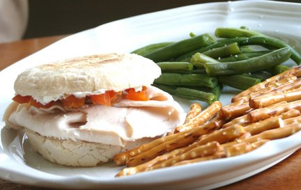 078 1 Recipe: Boars Head Apricot Turkey Sandwich