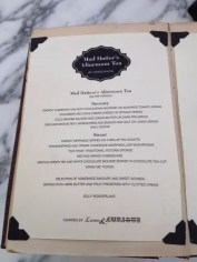Gluten Free Afternoon Tea, London: Mad Hatters at The Sanderson