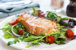Stylized Salmon Steak Share This Recipe Oven Steamed Salmon Recipe That Love Salmon Steak Recipe Ideas Salmon Steak Recipe Healthy