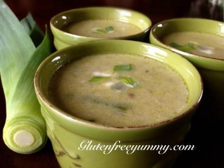 Leek & Asparagus Soup