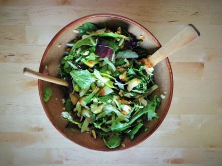 Grilled Chicken & Kumquat Spring Salad