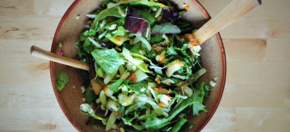 Colorful Grilled Chicken & Kumquat Spring Salad