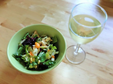 Deliciously lite & citrus flavored Grilled Chilled & Kumquat Spring Salad