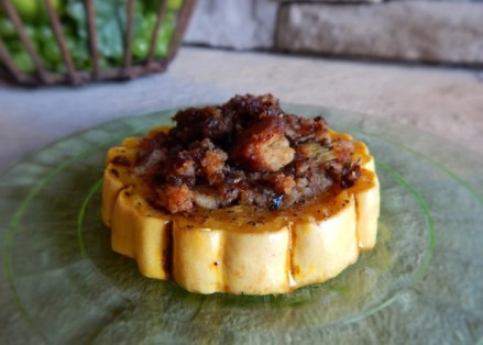 Roasted Squash Rings & Apple Stuffing