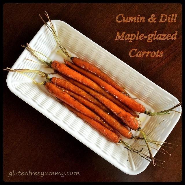 Glazed Carrot Pin