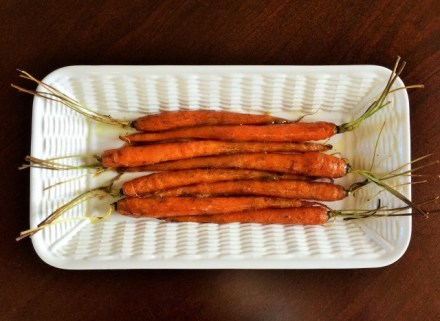 Cumin & Dill Maple-glazed Carrots