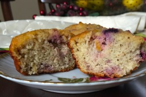 A delicious triple berry muffin that is paleo & eating clean good for you.