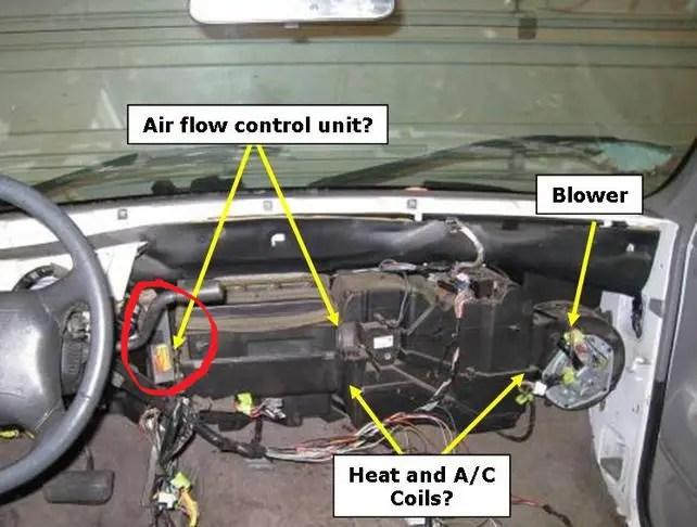 1997 Chevy Silverado A C Door Actuator 1988 1999