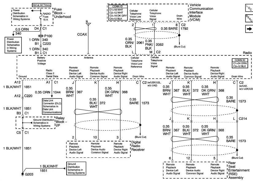 BOSE speaker system need Wiring diagram please - 1999-2013
