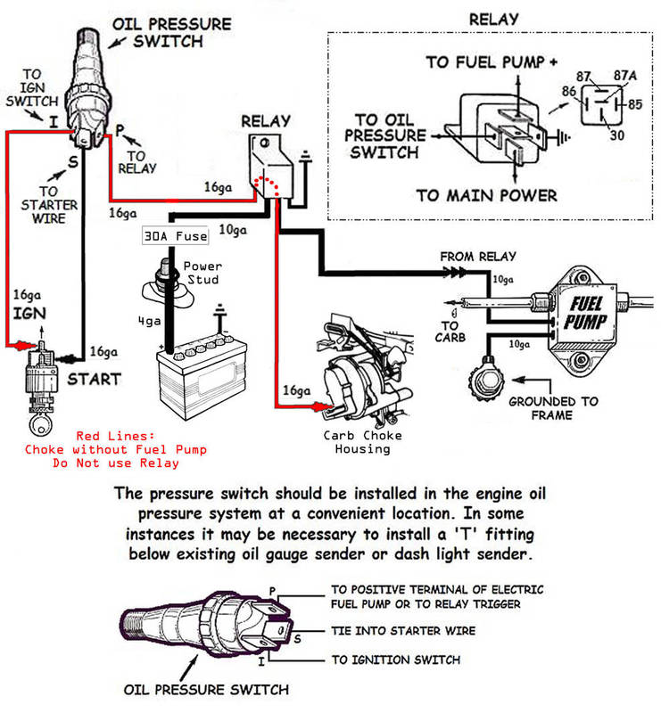 holley carb choke wiring diagram