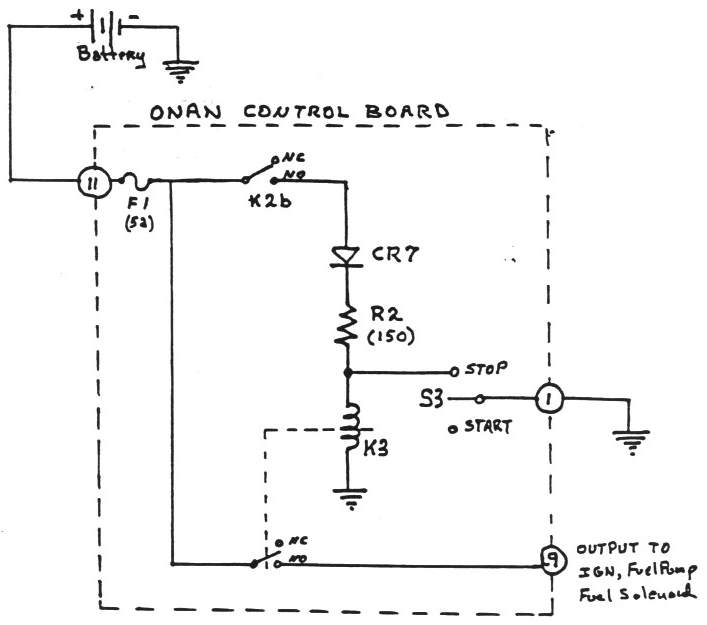 Engine Generator Diagram Wiring Diagram