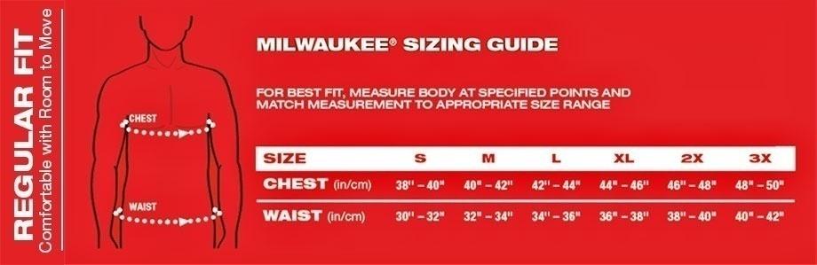 Milwaukee WORKSKIN Base Layer Long Sleeve Shirt - Gray GME