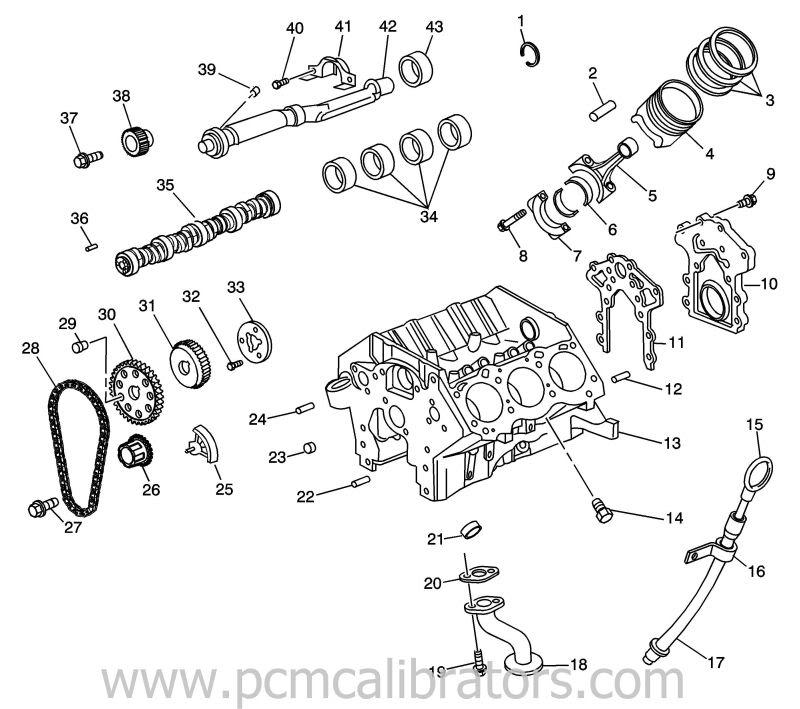 gm 3800 engine schematics