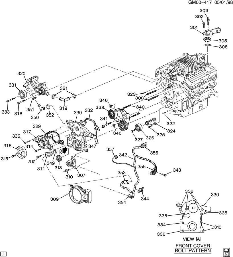 buick exhaust diagram
